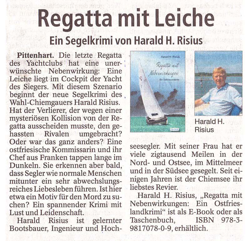 Pressebericht Trostberger Tagblatt